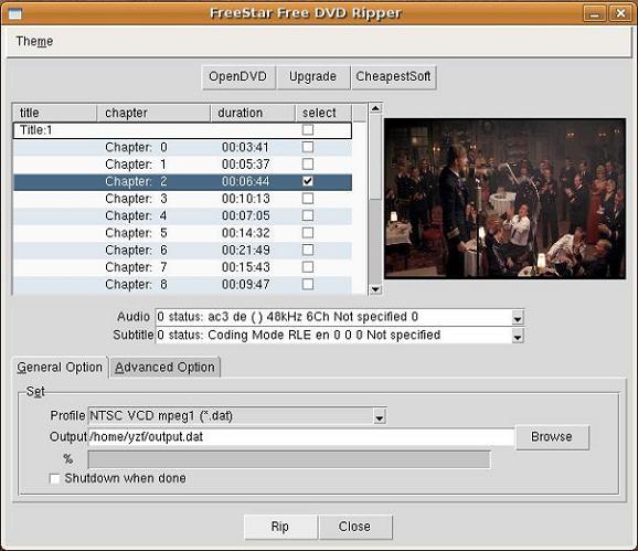 Free DVD Ripper Freeware – FreeStar Video Freeware